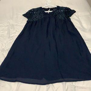 Doe & Rae navy dress